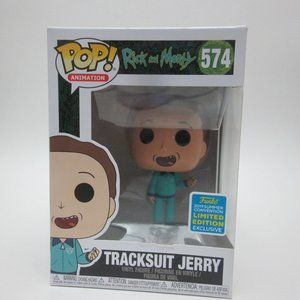 Rick and Morty Tracksuit Jerry exclusive Funko